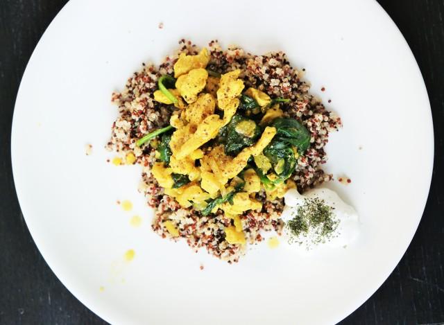 Lchf indisk kyckling quinoa