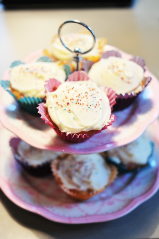 cupcakes frosting baka recept