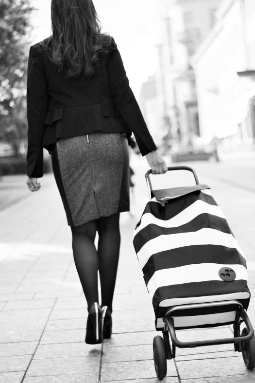 Rolser, citykärry, mommovagn, trolley, väska på hjul