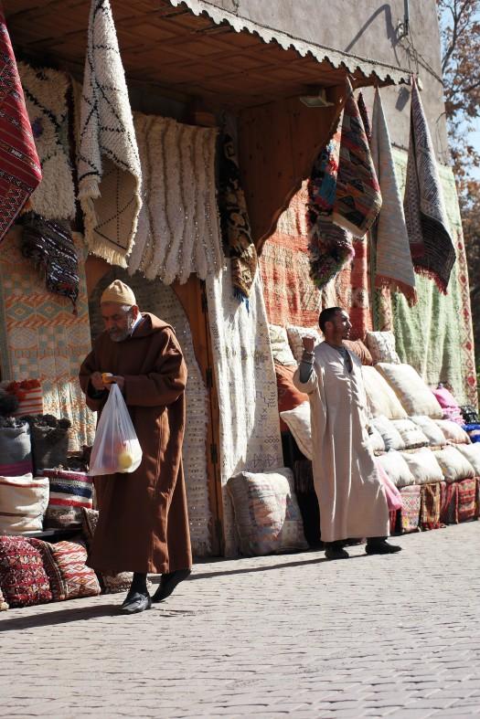 Marocko shoppa